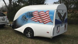 USA Built motorcycle trailer